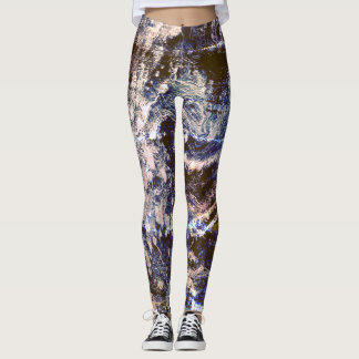 Guêtres de yoga avec le motif paisible de la leggings