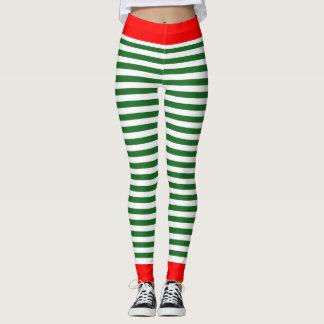Guêtres d'Elf de vacances - pantalon de costume Leggings