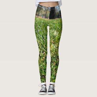 Guêtres d'herbe leggings