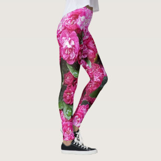 Guêtres fleuries leggings