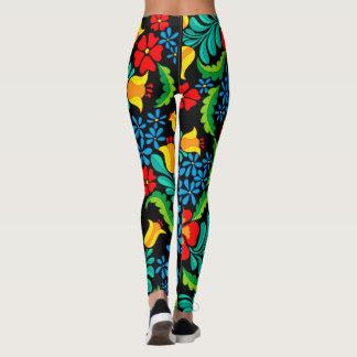 Guêtres florales de jungle leggings