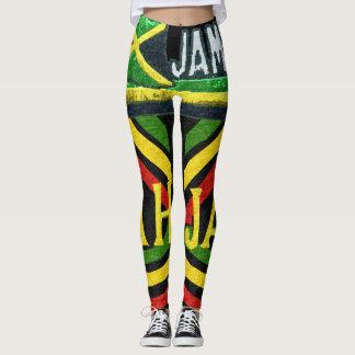Guêtres jamaïcaines de Rasta Jah Leggings
