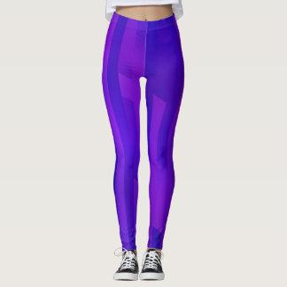 Guêtres violettes leggings