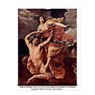 Guido Reni, abduction du Louvre 1620-21 de Carte Postale