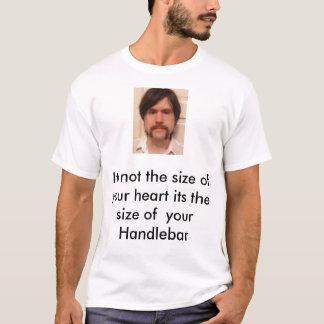 guidon, son pas la taille de votre coeur son t… t-shirt