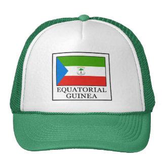Guinée équatoriale casquettes de camionneur