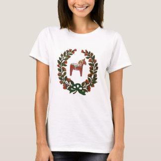 Guirlande de cheval de Dala T-shirt