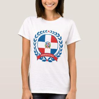 Guirlande de la République Dominicaine T-shirt