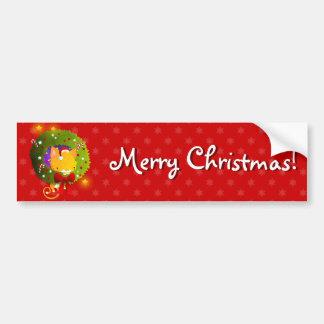 Guirlande de Noël Autocollant De Voiture