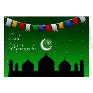 Guirlande de Ramadan Eid - carte de voeux