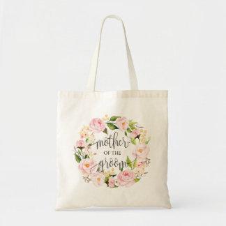 Guirlande florale, mère du marié, Calligraphy-2 Sac