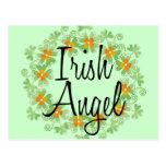Guirlande irlandaise de shamrock d'ange