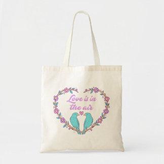 Guirlande pourpre de coeur d'amour de turquoise de sac