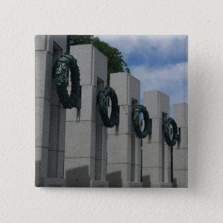Guirlandes de mémorial de la deuxième guerre pin's