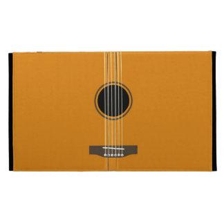 Guitar Coques iPad Folio