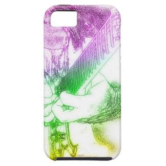 Guitar Ing tâtonner Rainbow Colors Étui iPhone 5