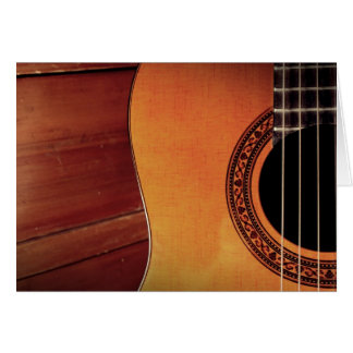 Guitare acoustique cartes