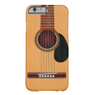 Guitare acoustique coque iPhone 6 barely there
