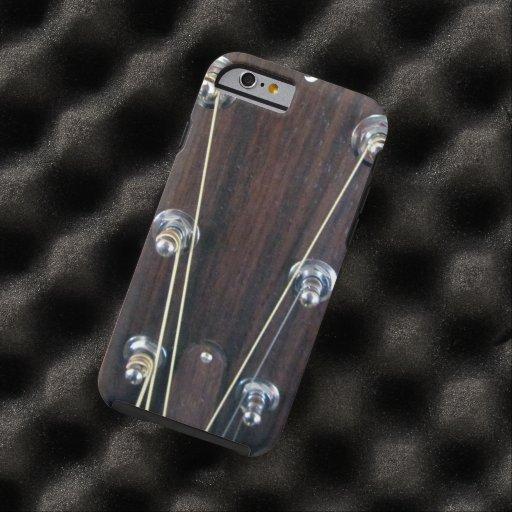 Guitare acoustique coque iPhone 6 tough