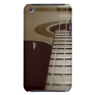 Guitare acoustique coque barely there iPod