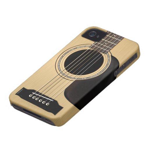 Guitare acoustique coque Case-Mate iPhone 4