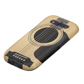 Guitare acoustique coques galaxy SIII