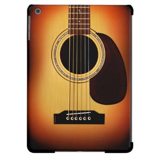 Guitare acoustique de rayon de soleil