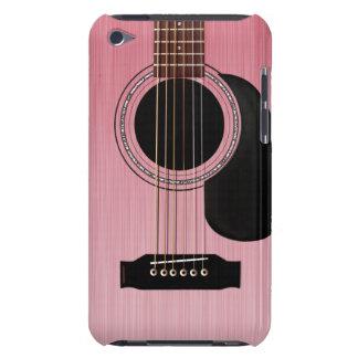 Guitare acoustique de rose de rose coque iPod touch