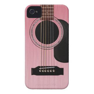 Guitare acoustique de rose de rose coque Case-Mate iPhone 4