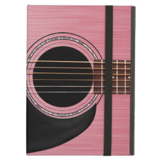 Guitare acoustique de rose de rose