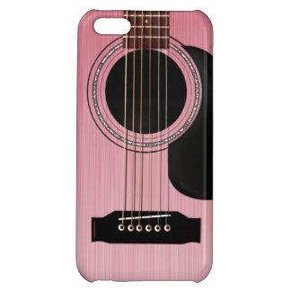 Guitare acoustique de rose de rose coque iPhone 5C