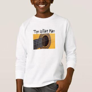 Guitare acoustique d'harmonie t-shirt