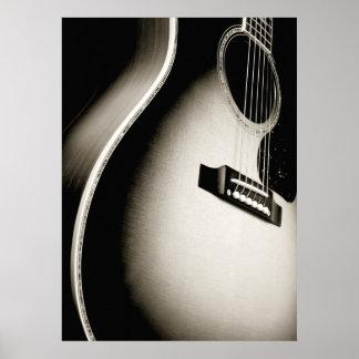 guitare acoustique posters