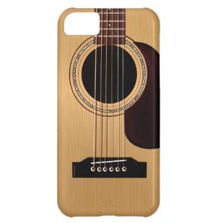 Guitare acoustique supérieure impeccable étuis iPhone 5C