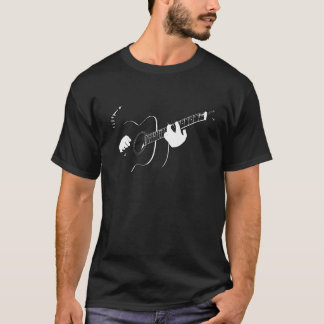 guitare acoustique t-shirt