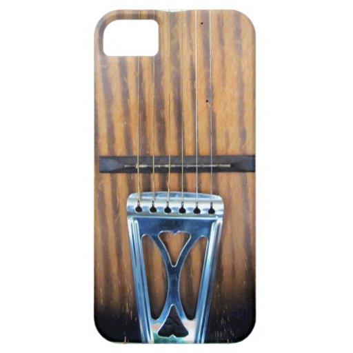 Guitare acoustique vintage iPhone 5 case