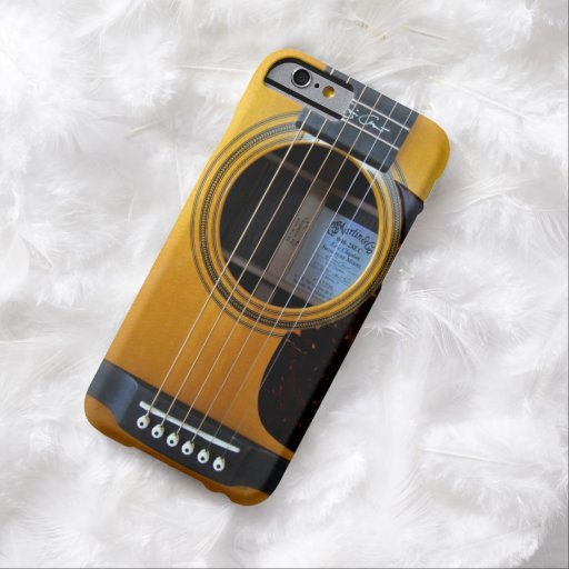 Guitare acoustique vintage coque iPhone 6 barely there