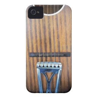 Guitare acoustique vintage coque Case-Mate iPhone 4