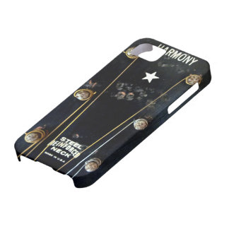 Guitare acoustique vintage coques iPhone 5