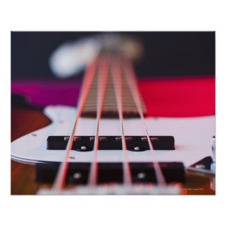 Guitare basse 3 posters