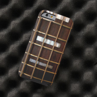 Guitare basse vintage coque iPhone 6 tough