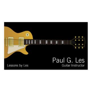 Guitare Carte De Visite