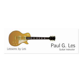 Guitare Modèle De Carte De Visite