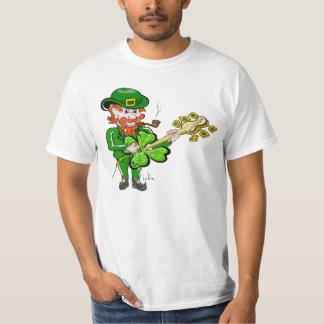 Guitare de jour de St Patricks par Doug LaRue T-shirt