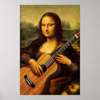 Guitare de Mona Posters
