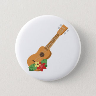 Guitare d'ukulélé badge