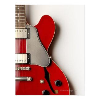 Guitare électrique 12 carte postale
