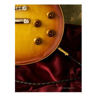 Guitare électrique 6 carte postale