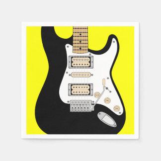 Guitare électrique serviette jetable