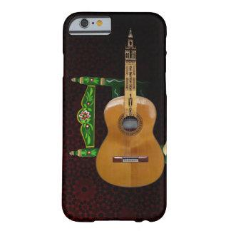 Guitare espagnole avec Girouette Séville et chaise Coque Barely There iPhone 6